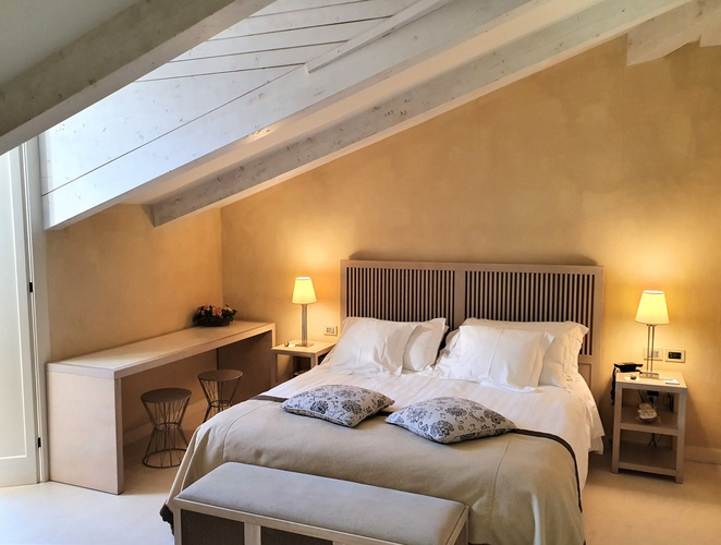Chambre deluxe penthouse  art hotel novecento bologne